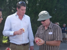 Murray Linnell, Fruit 2U, with Andrew Common